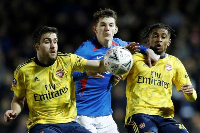 El Portsmouth confirmó que cuatro de sus jugadores dieron positivo. AFP