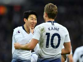Harry Kane could return from injury against Burnley. AFP