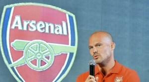 Ljungberg revient chez les 'Gunners'. AFP