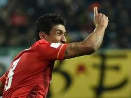 Guangzhou ne se remplira pas les poches avec Paulinho. AFP