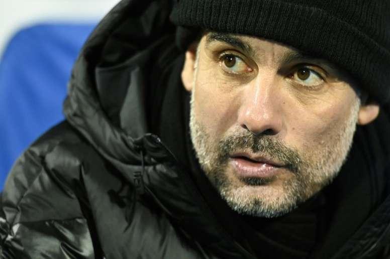 Guardiola denies Man City break clause. AFP