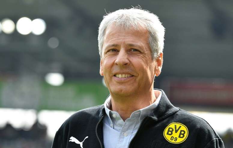 Lucien Favre is hoping to  claim an unlikely Bundesliga title this Saturday.