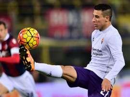Fiorentinas forward Cristian Tello