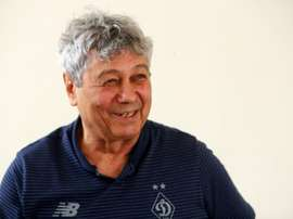 Lucescu has done on a U-turn on his decision to leave Dynamo Kiev. AFP