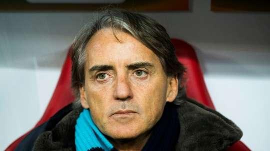 Roberto Mancini deverá ser o próximo selecionador italiano. AFP