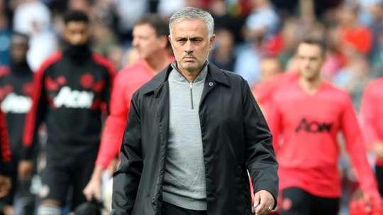 Mourinho partiu para o ataque. AFP