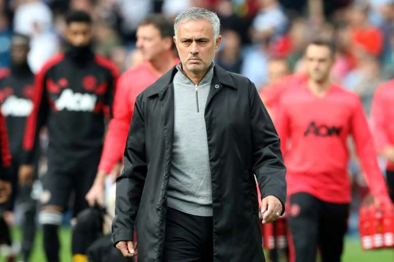 Mourinho has had a difficult start to the season. AFP