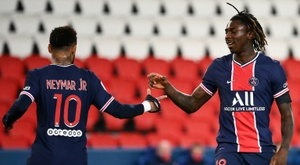 Kean, Mbappe send PSG top after Lens game called off due to Covid outbreak. AFP