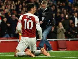 Archavin évoque l'avenir de Mesut Özil. AFP