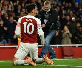 Özil de aspirante a gênio a incômodo para o Arsenal. AFP