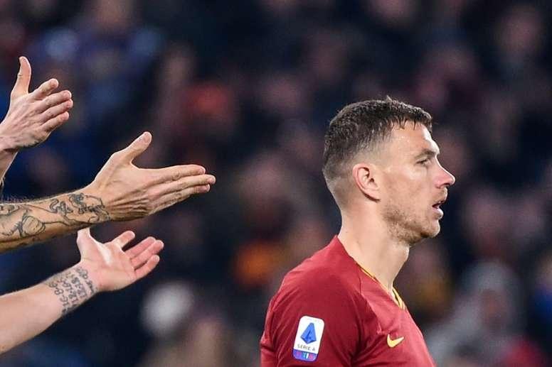 Dzeko cobrará 7,5 millones por cada curso en la Juventus. AFP