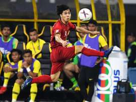 Malaysia came from two goals down to salvage a 2-2 draw with Vietnam. AFP