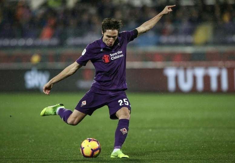 Chiesa has been ruled out of the Italy games. AFP