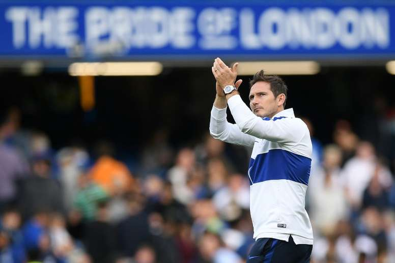 Frank Lampard has yet to win as a Premier League manager. AFP