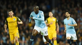 Yaya Toure linked with move to China. AFP