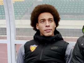 El futbolista belga ha sido el protagonista de un lance en pleno partido. AFP