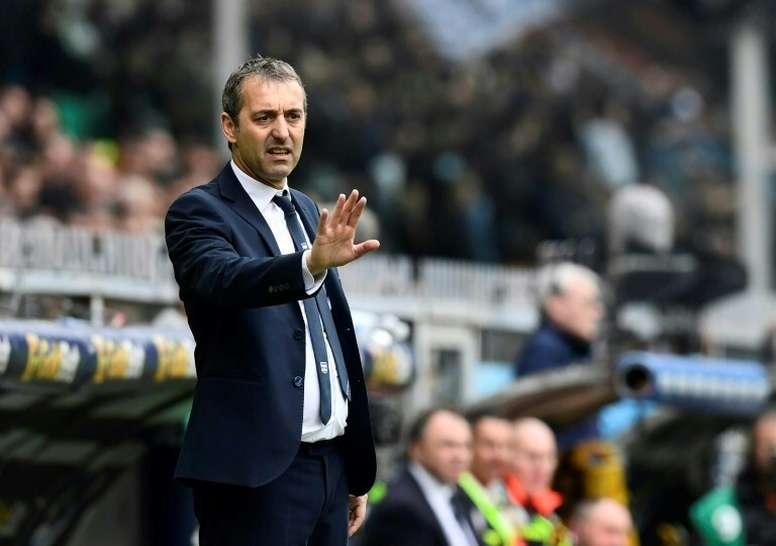 Giampaolo, è l'allenatore ad essere durato meno. AFP