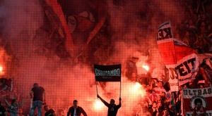 Action sociale à Stuttgart. AFP