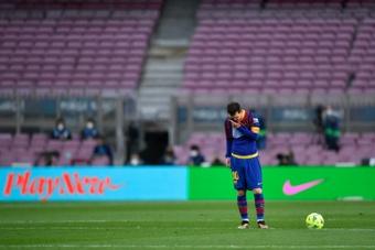 La prensa catalana, sin piedad con el Barça. AFP