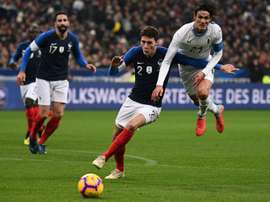 Pavard refused to be drawn on when his future lies. AFP