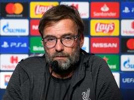 Liverpool must improve European away form, warns Klopp. AFP