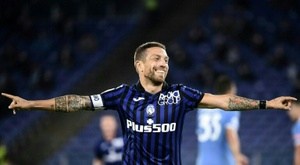 Alejandro Gomez is due to leave Atalanta in the coming days. AFP