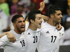 La Lituanie s'incline face à l'Iran. AFP
