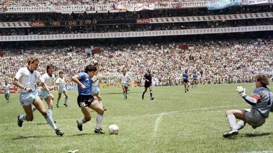 Ali Bin Nasser has hailed Maradona. AFP