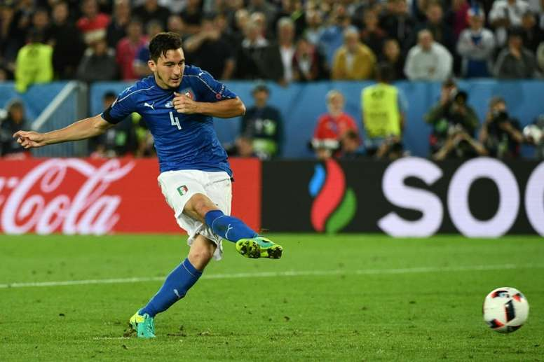 Darmian missed the final spot-kick during the Euro 2016 quarter-final penalty shoot-out. AFP
