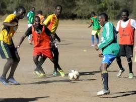 Kenya's slumdog footballers play for pennies and pride.