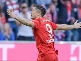 Lewandowski destrói recordes na Alemanha. AFP
