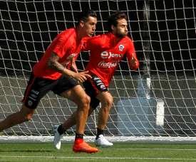 Valdivia podría volver al equipo chileno. AFP