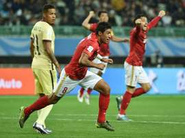 Paulinho fait le travail. AFP