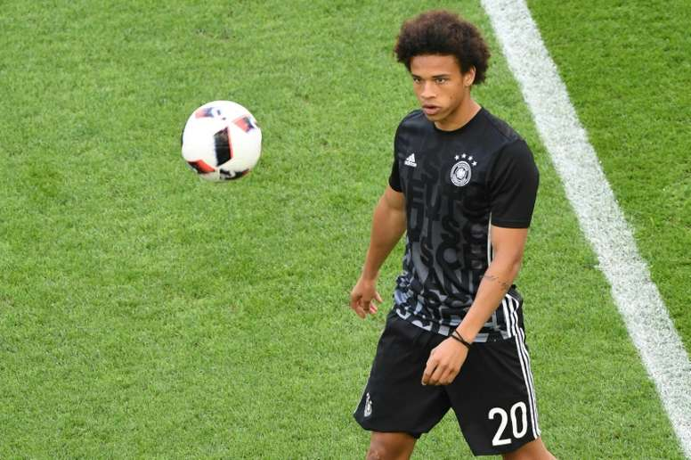 Sane's move to Manchester City has been completed. AFP