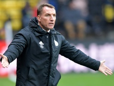 Rodgers' Leicester fell to a late defeat at Watford. AFP