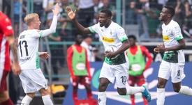 La nouvelle attraction du Borussia-Park. AFP