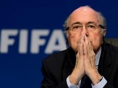 Former FIFA president Blatter in hospital, 'getting better every day'