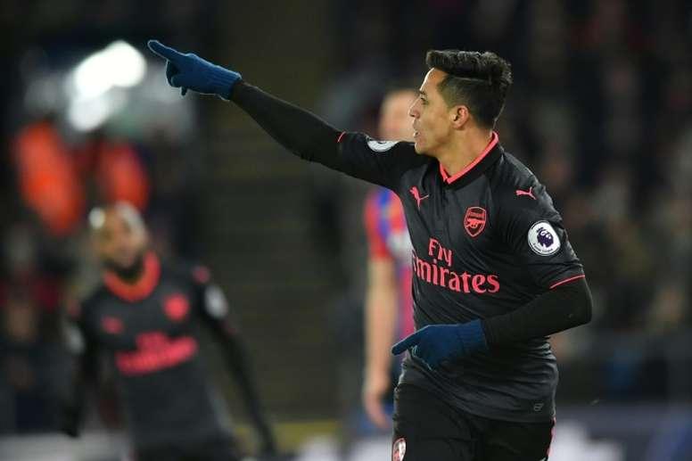 Alexis se acerca al Manchester City. AFP