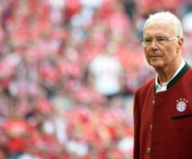 Beckenbauer won the World Cup as a coach and a player. AFP