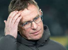 Ralf Rangnick has several suitors. AFP