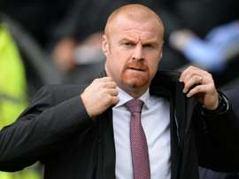 Dyche's side ran out comfortable winners at Turf Moor. AFP