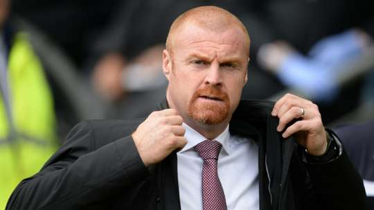 Dyche has been at Burnley since 2012. AFP