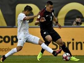 Gamboa se pierde lo que resta de Copa América. AFP