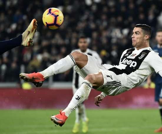 Ronaldo opened the scoring. AFP