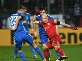 Bochum in action against Bayern Munich in 2016. AFP