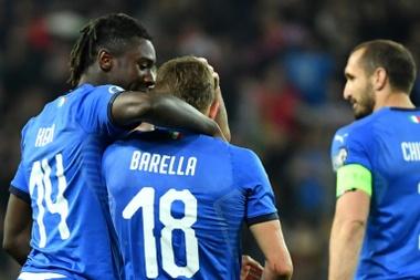 Nicolo Barella has caught Inter's eye. AFP