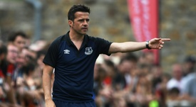 Silva insists all his players speak English. AFP