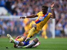 Quarta derrota para os pupilos de Antonio Conte na Premier League. AFP