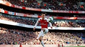 Özil pone punto y final a su aventura en el Arsenal. AFP