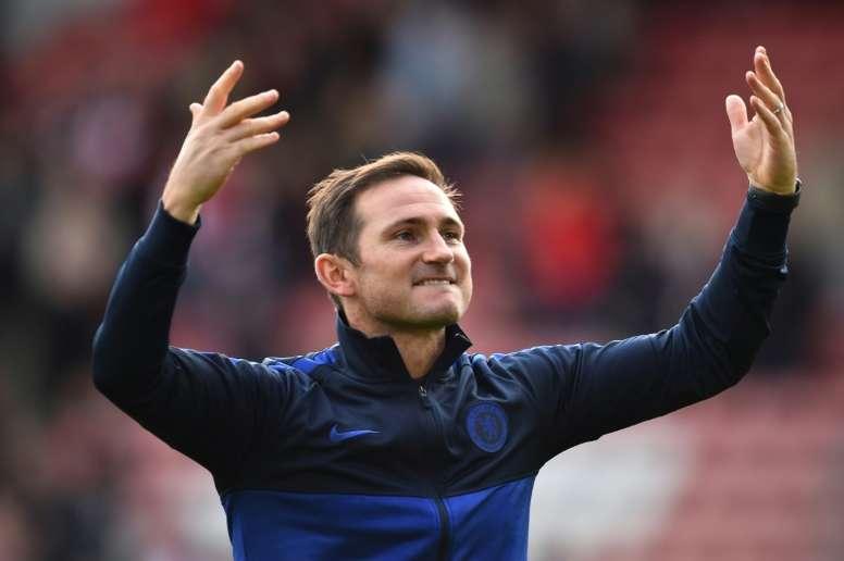 Lampard, decepcionado con Deschamps. AFP